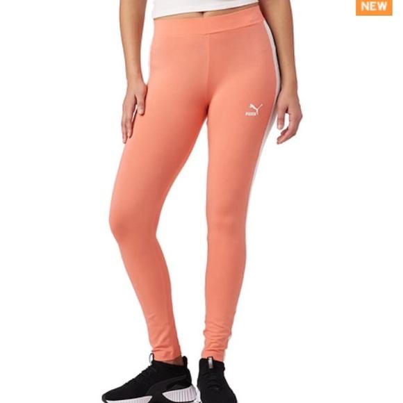ac4d2a952339ce Puma Pants | Blue Caramel Archive Logo T7 Legging | Poshmark